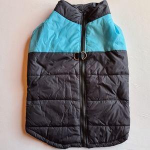 NWOT Pet Dog Warm Coat Jacket Blue Black 5XL